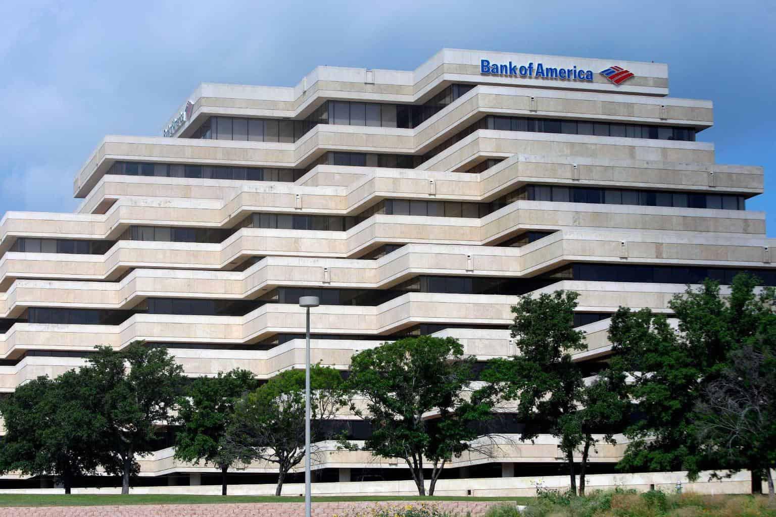 Bank of America đã từng giữ vị thế hàng đầu thế giới trong nhiều năm liền